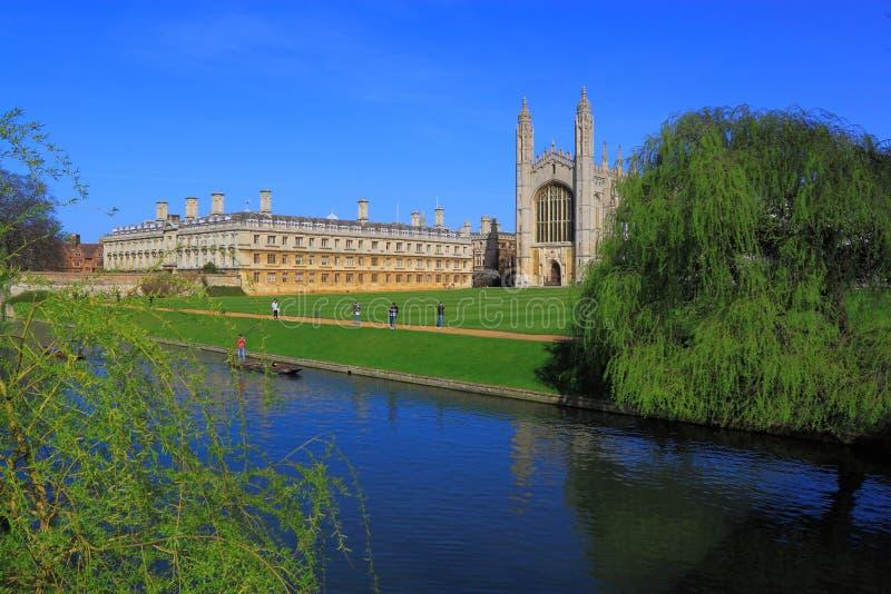 Кампус Кембриджа стоковое изображение