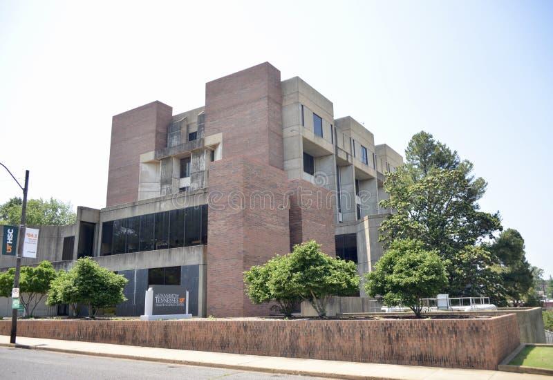 Кампус центра науки здоровья UT главный, Мемфис, TN стоковое изображение rf