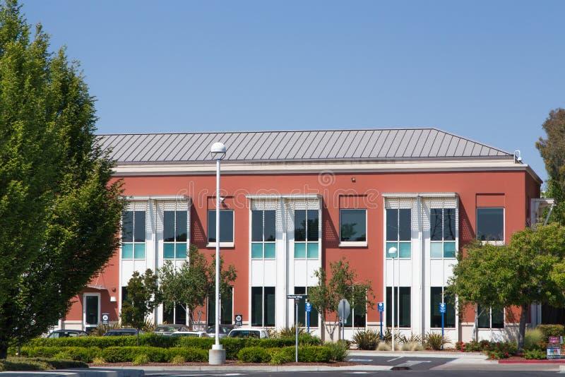 Кампус штабов Facebook корпоративный в Кремниевой долине стоковое фото rf