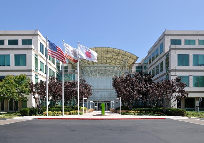 кампус inc яблока стоковое изображение rf