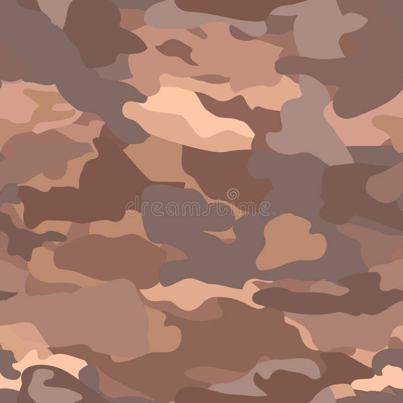 камуфлирование Безшовная воинская предпосылка иллюстрация штока