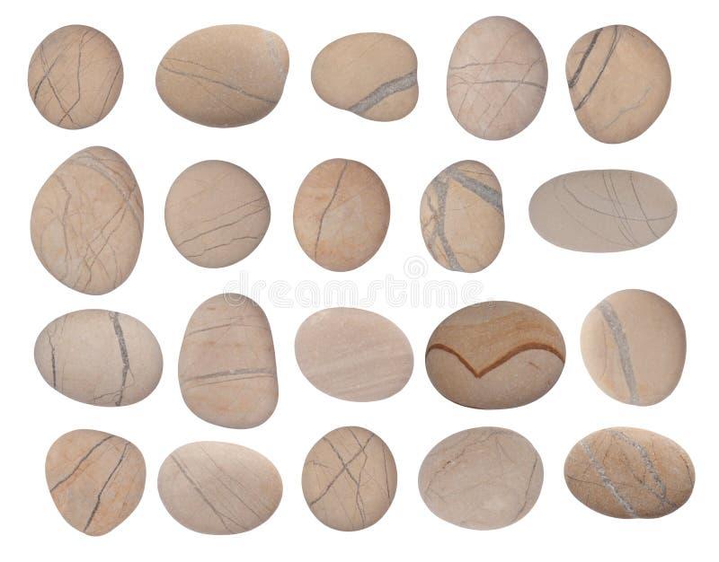 камушки собрания стоковое изображение rf
