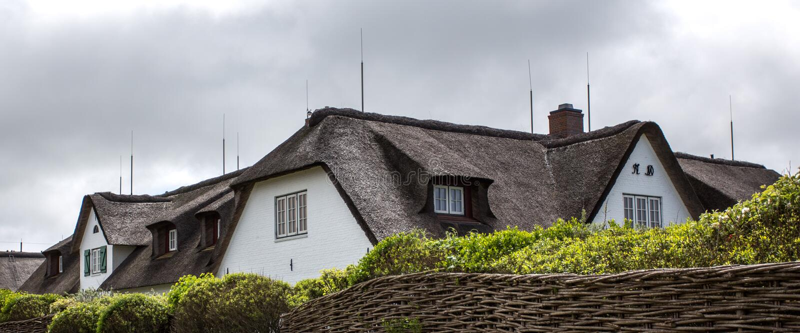 камышовая крыша стоковые изображения