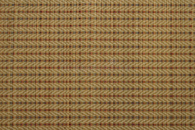 Камышовая циновка соткет, ремесленничество стоковое изображение