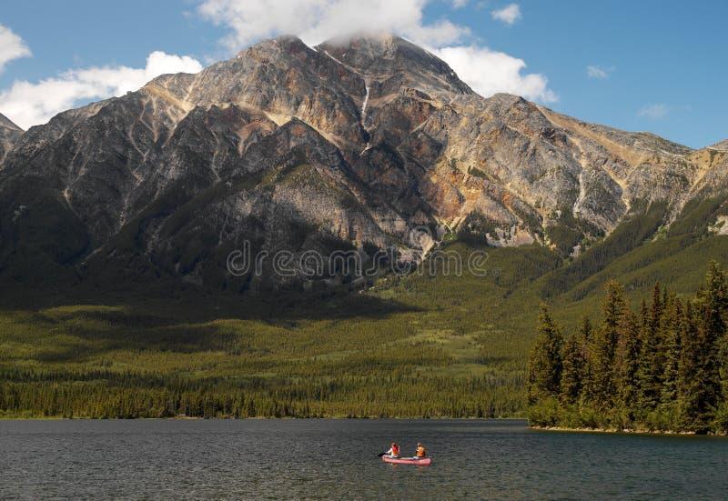 Канада - национальный парк яшмы стоковые изображения