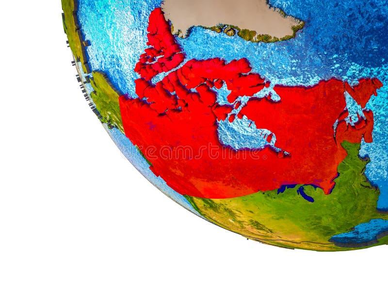 Канада на земле 3D бесплатная иллюстрация