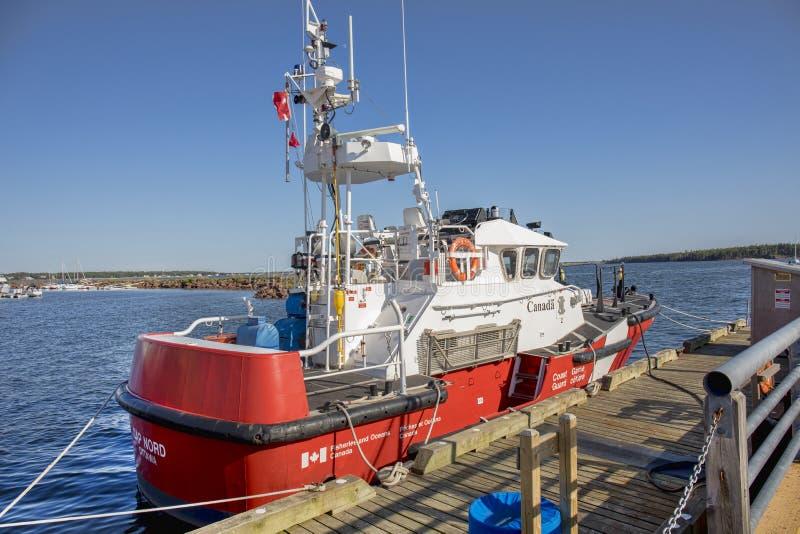 Канадская служба береговой охраны стоковое изображение rf