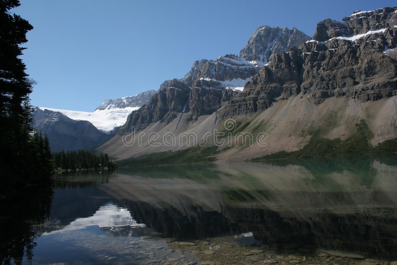 канадские rockies стоковые изображения rf