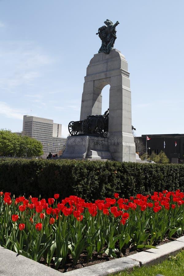 Канадский национальный мемориал войны стоковая фотография