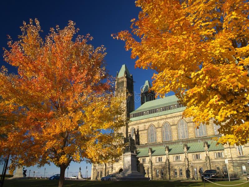канадский парламент стоковые изображения