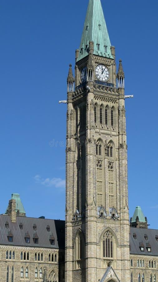 канадское parliement ottawa стоковая фотография
