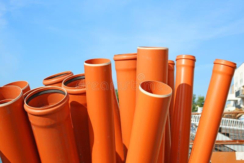 Канализационные трубы стоковые изображения rf