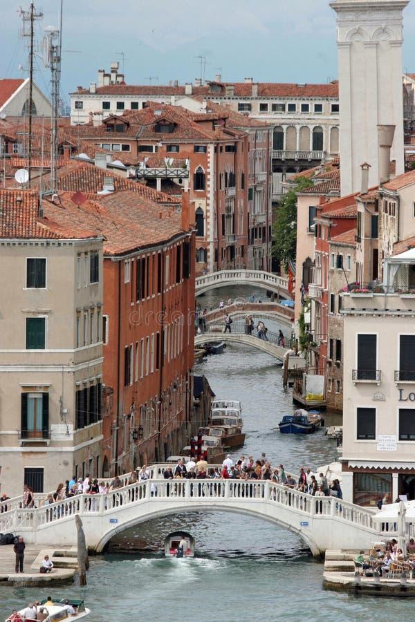 каналы, venice, Италия стоковая фотография