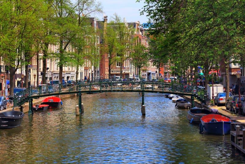 Канал Амстердама стоковые изображения rf
