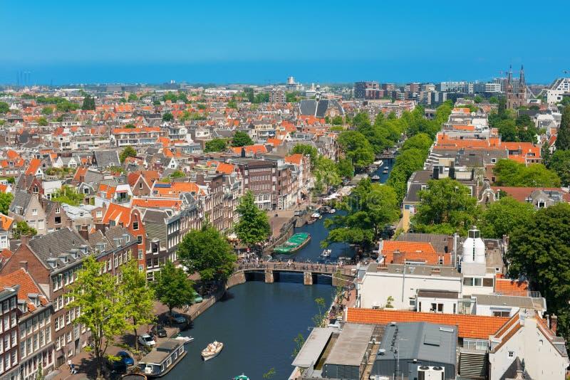 Канал Амстердам стоковая фотография
