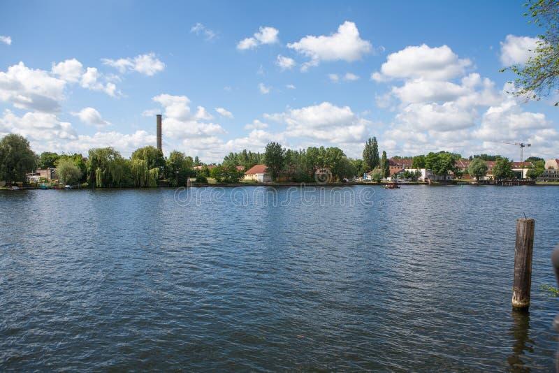 Канал в Берлине стоковые изображения rf