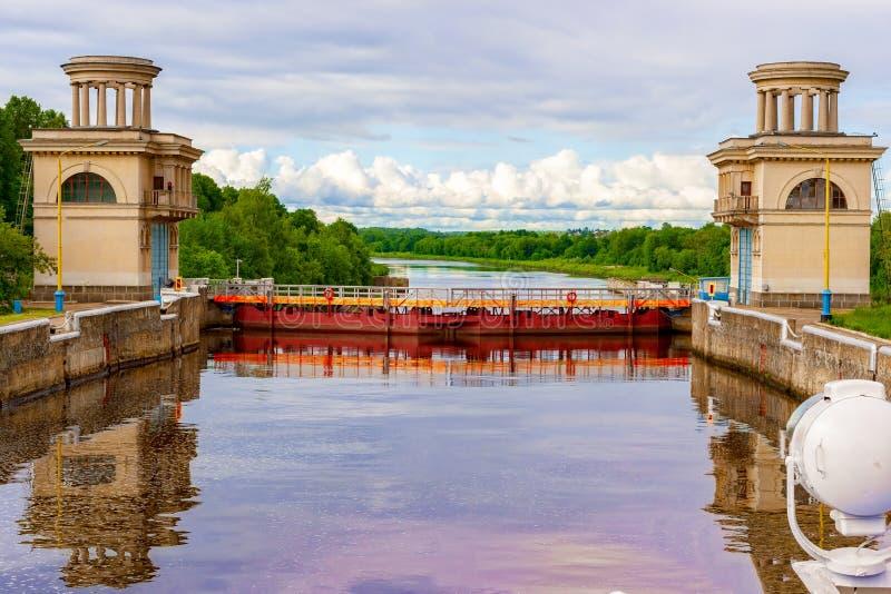 Канал назвал Москву Ворота стоковое изображение