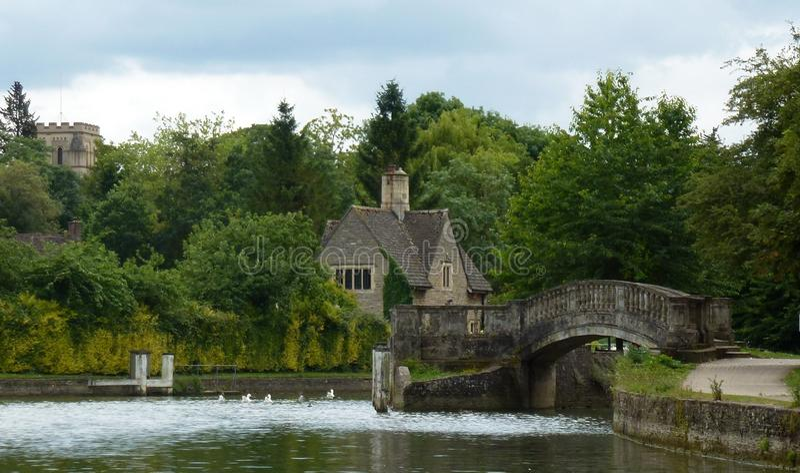 Канал Оксфорда стоковое фото