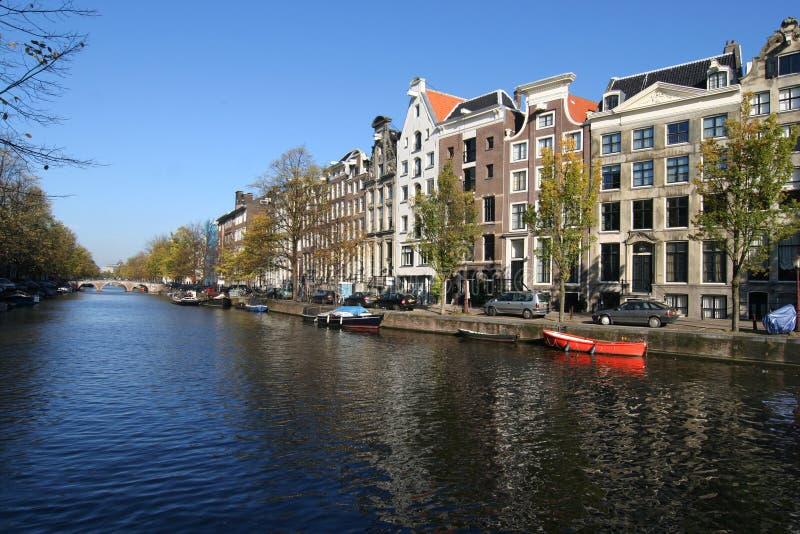 канал amsterdam стоковые фотографии rf