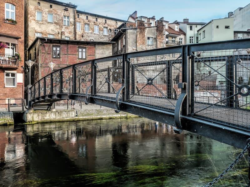 Канал Bydgoszcz, Польша стоковые изображения rf