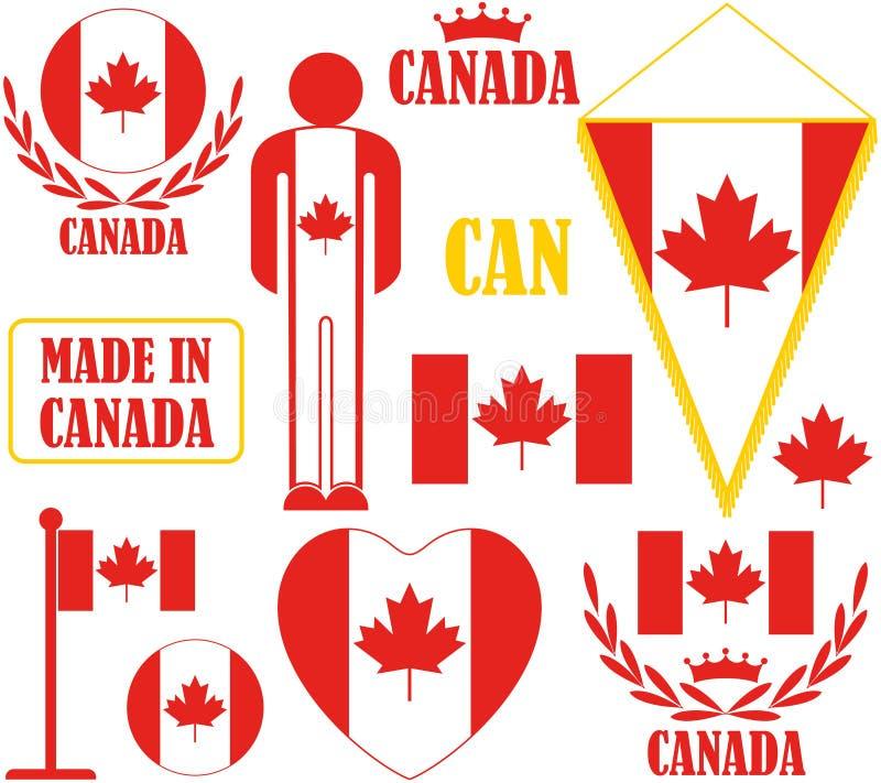 Канада иллюстрация штока