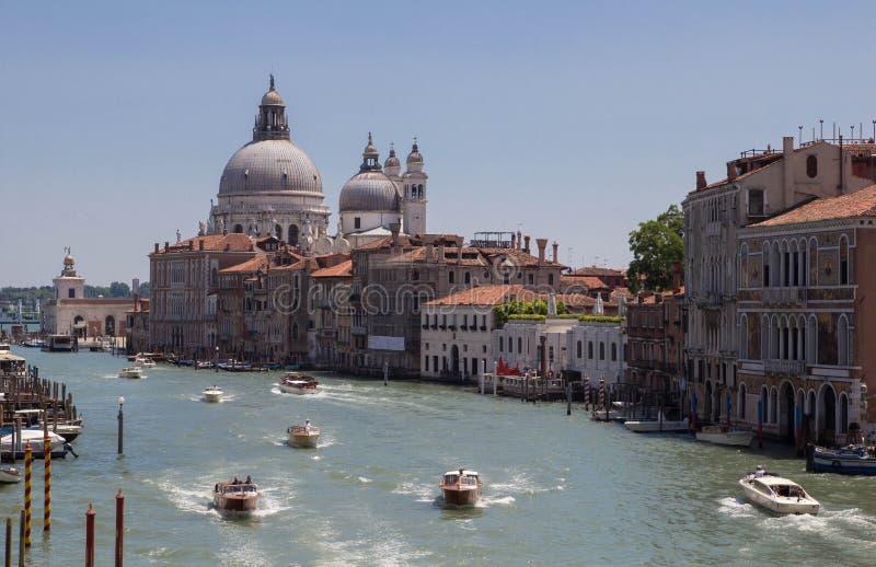 Канал Венеции грандиозный стоковая фотография rf
