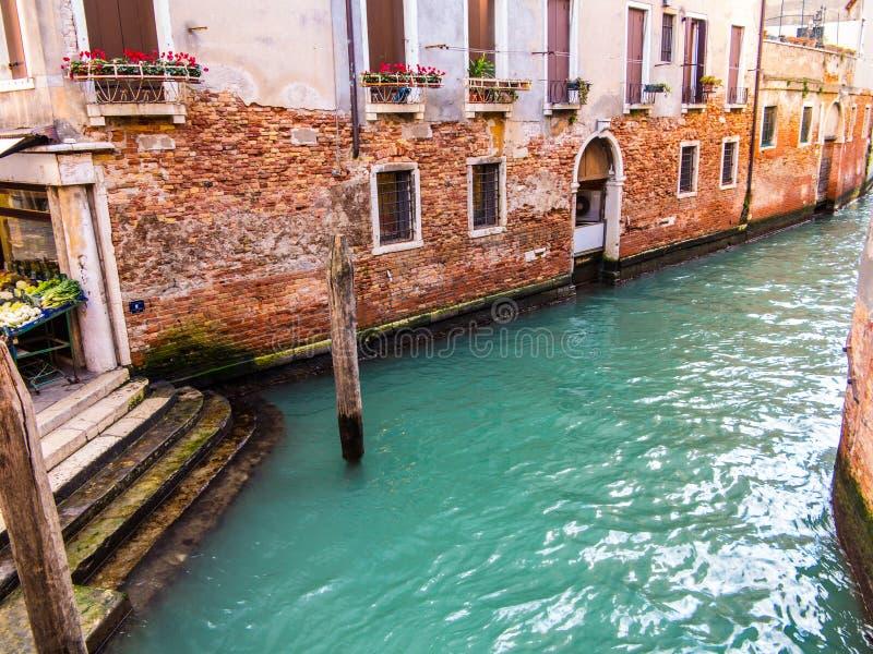 Канал Венеции стоковое фото