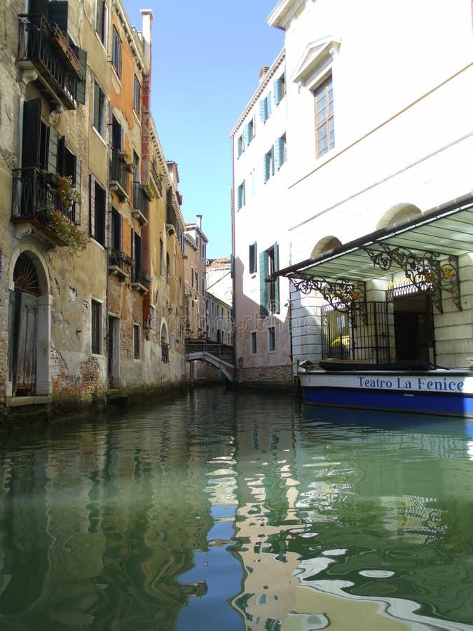 Канал Венеция, Италия стоковое фото