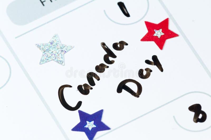 Канаде -го в июле день во-первых, стоковые фото