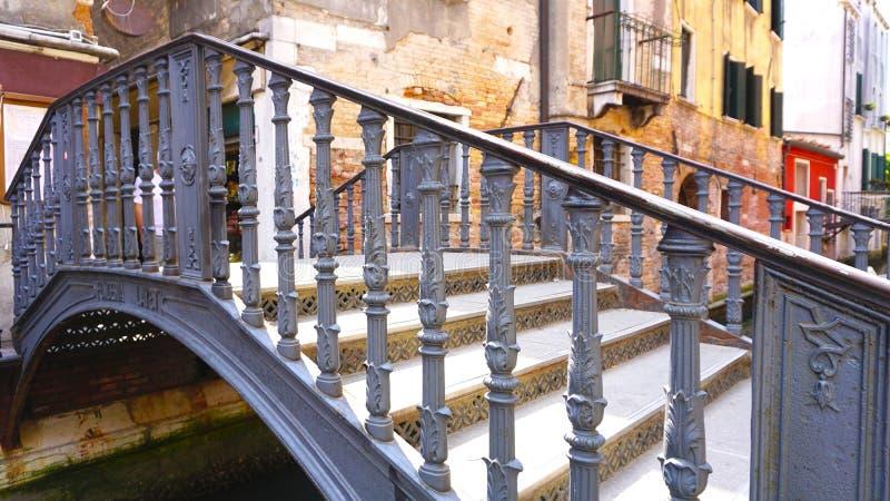 Канал креста моста металла стоковые фотографии rf