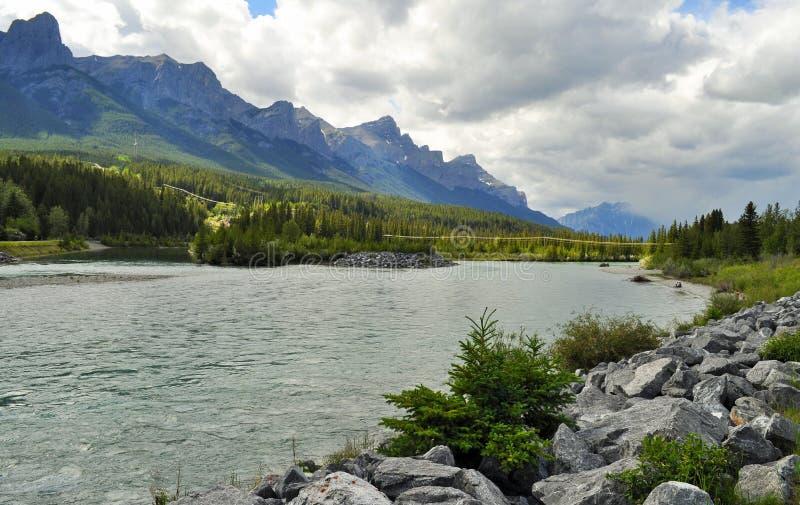 Канадская природа - Canmore, Альберта стоковое изображение rf