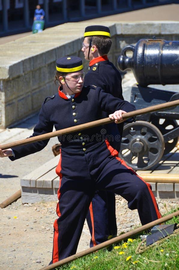 канадский воин стоковое изображение rf