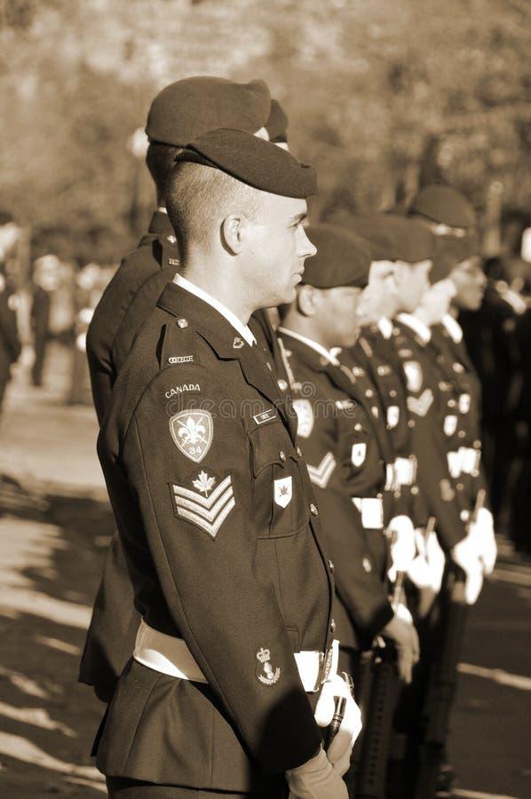 канадский воин стоковая фотография rf