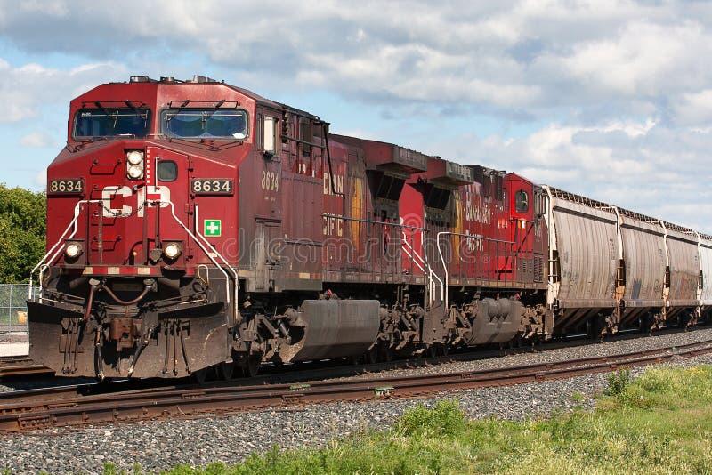 канадский Тихий океан поезд стоковая фотография rf