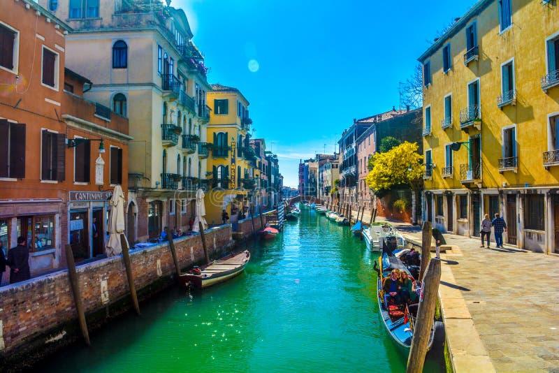 Каналы Венеции стоковые изображения