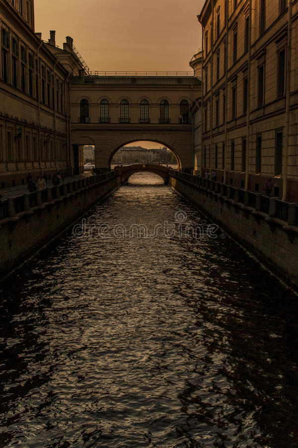 Каналы к северной столице стоковые фотографии rf