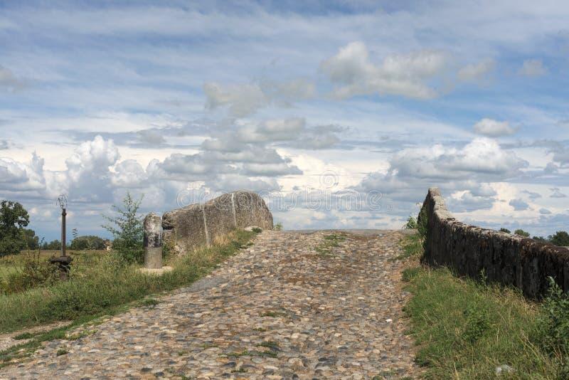 Канал Bereguardo (IMilan) стоковое фото