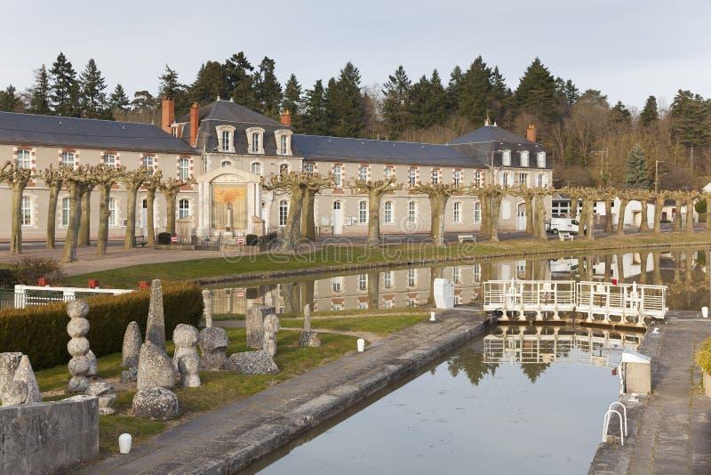 Канал Briare стоковое фото