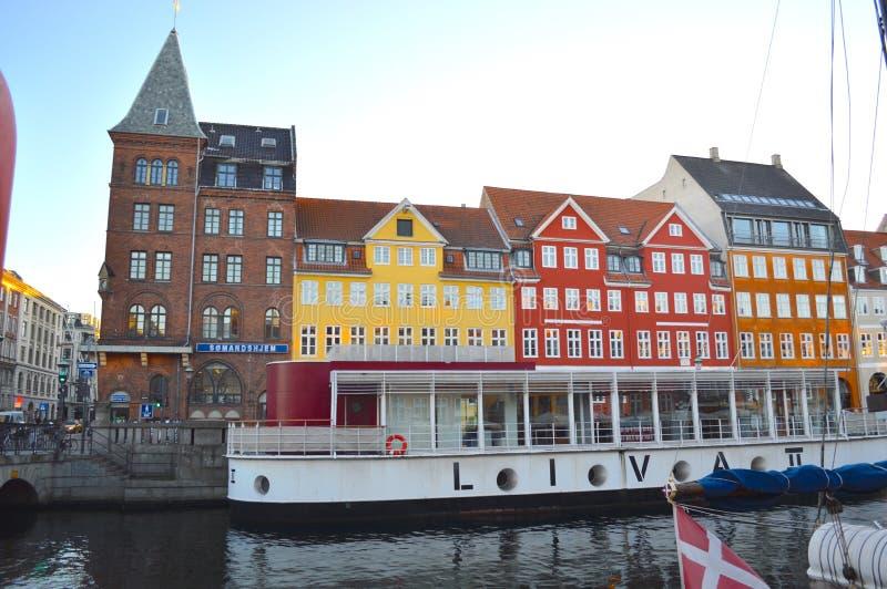 Канал Nyhavn стоковая фотография