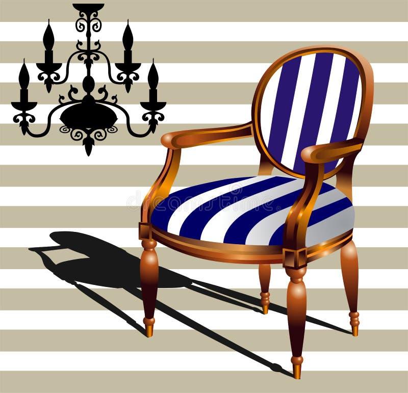 канделябр кресла бесплатная иллюстрация