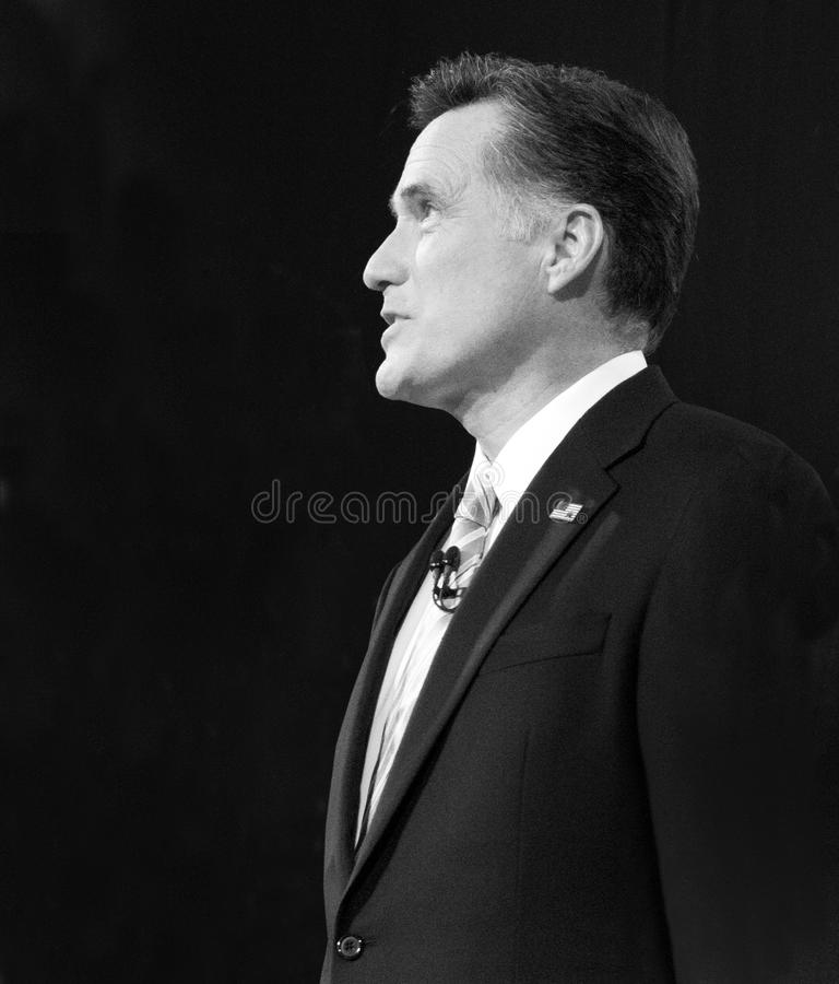 Кандидат в президенты Romney республиканский США перчатки стоковое изображение rf