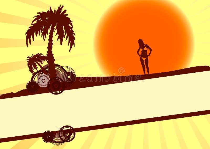 каникула лета бесплатная иллюстрация