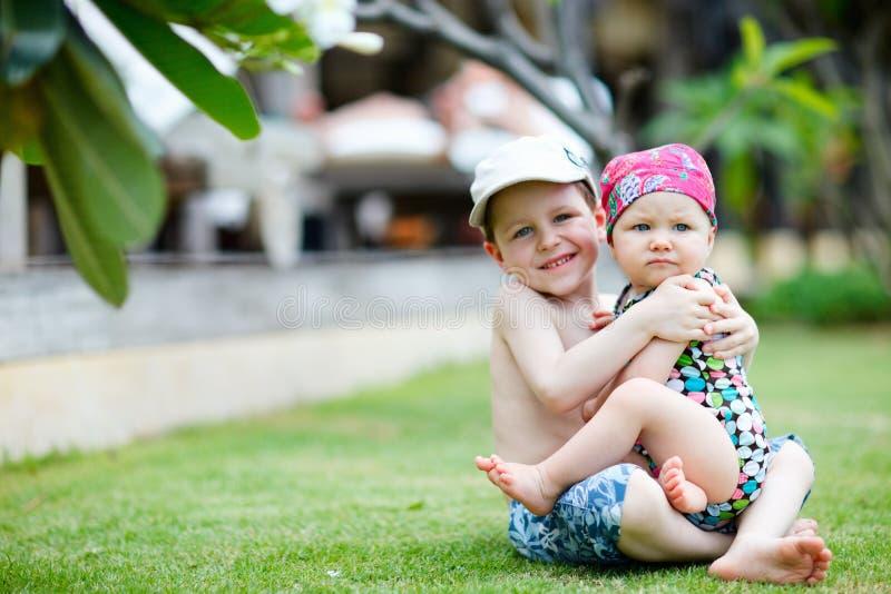 каникула малышей стоковая фотография