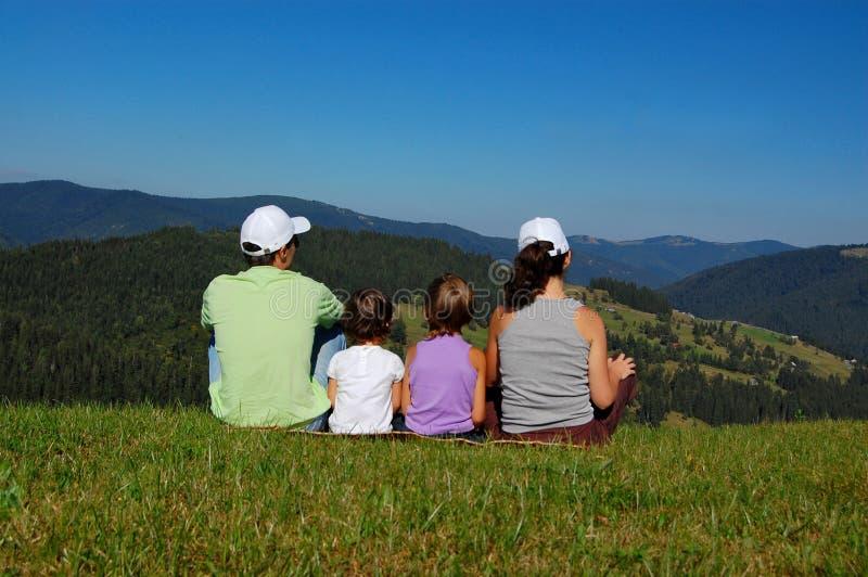 каникула семьи стоковое фото rf