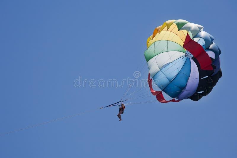 каникула спорта paragliding стоковое изображение rf