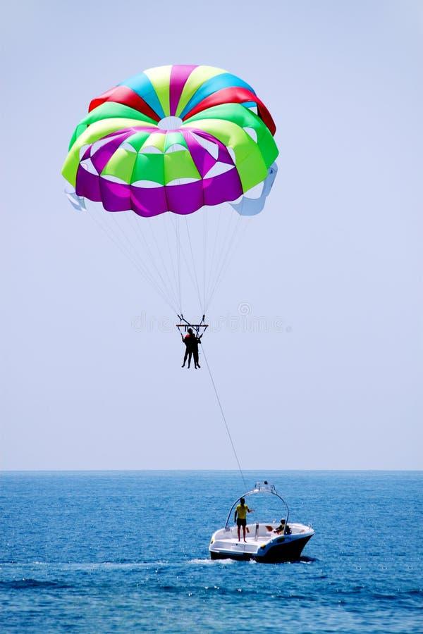 каникула parasailing стоковое фото