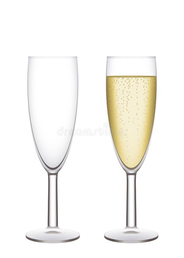 каннелюры шампанского бесплатная иллюстрация