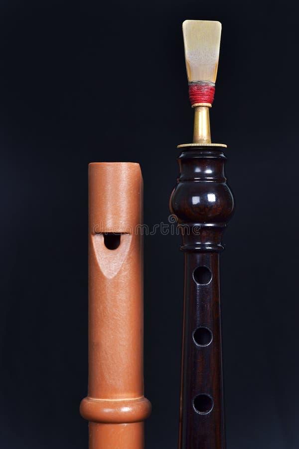 Каннелюра и dolçaina стоковая фотография