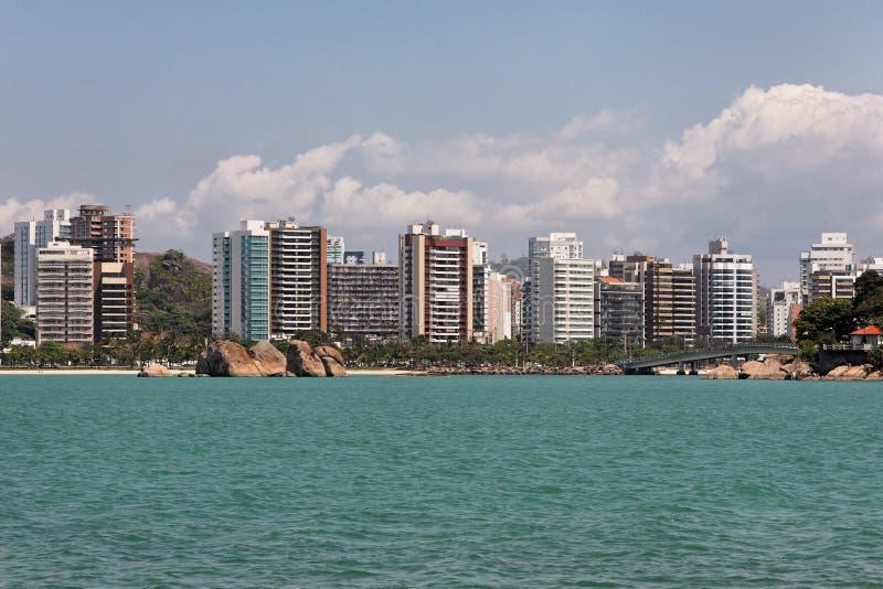кантон делает vitoria praia стоковые изображения rf