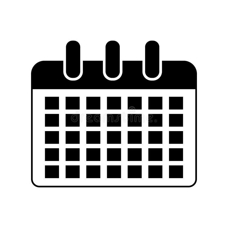 Канцелярские товар calendar икона бесплатная иллюстрация